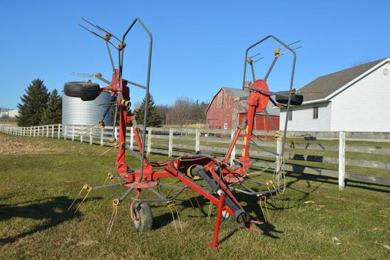 Sitrex RT-5800-H 4 basket hay tedder