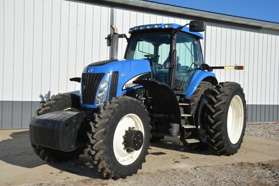 2002 New Holland TG255 MFWD tractor