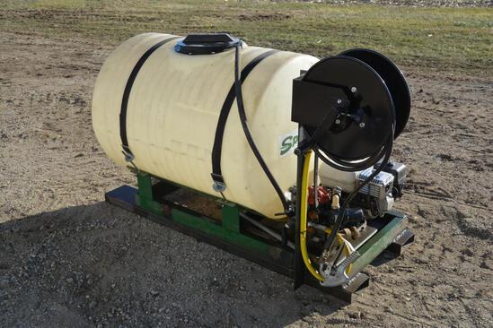 Spray-White 200 gal. w/ Honda 5 hp engine