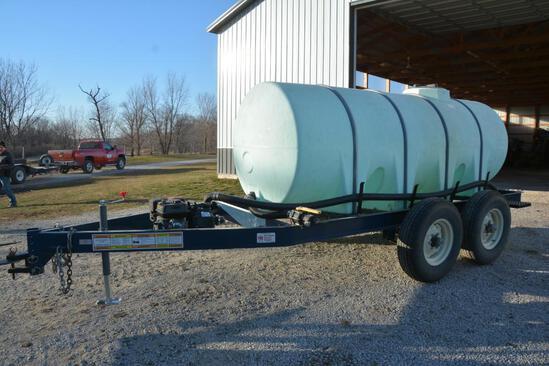 Schaben P-265-1010 1010 gal. liquid tender trailer