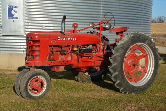 Farmall H tractor