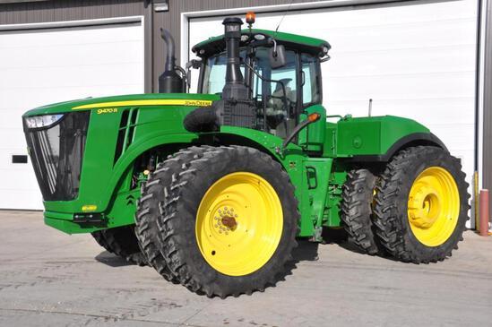 2015 John Deere 9470R 4WD tractor