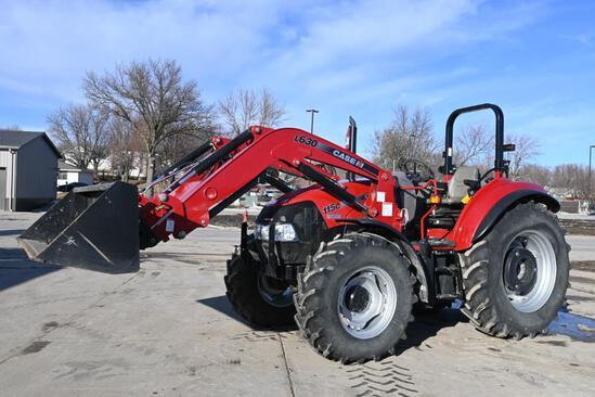 2014 Case-IH Farmall 115C MFWD tractor