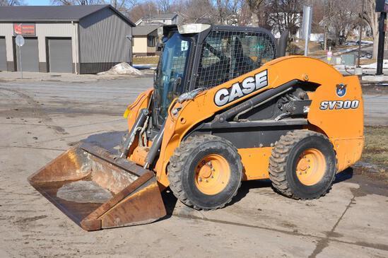 2013 Case SV300 skidsteer
