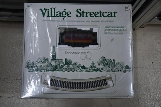 Department 56 village street car