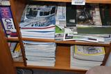 collection of classic car magazines as pictured