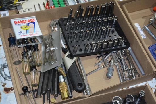 flat of hand tools