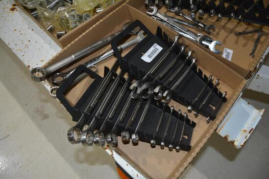 (2) Partial sets of open and box end Craftsman wrenches