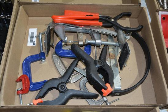 Fram filter pliers and C-clamps