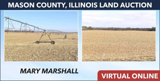 Mason County, IL Land Auction - Marshall