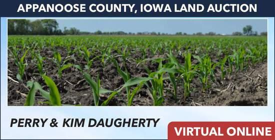 Appanoose County, IA Land Auction - Daugherty