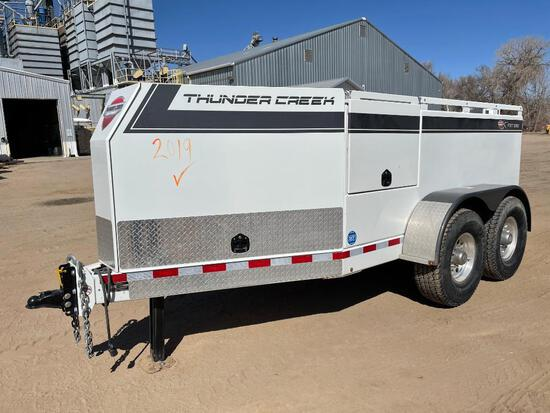 2019 Thunder Creek FST990-G3 fuel trailer