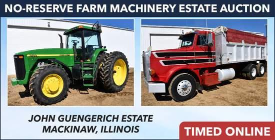 No-Reserve Farm Machinery Estate - Guengerich