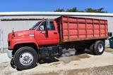 1991 GMC TopKick grain truck