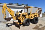 1987 Vermeer M-455A 4wd trencher/backhoe