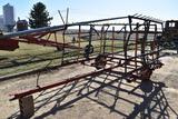 Pepin 21' 5-bar harrow on cart