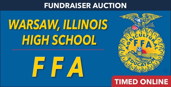 Warsaw, IL FFA Fundraiser Auction