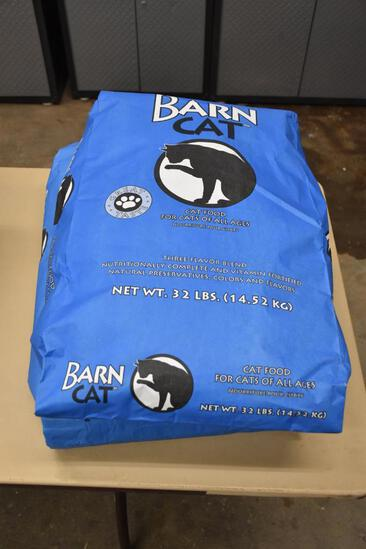(2) Bags of Barn Cat cat food, each bag is 32lbs.