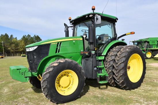 2017 John Deere 7250R MFWD tractor