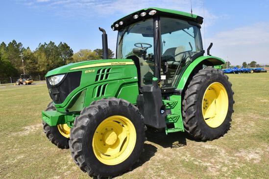 2017 John Deere 6130R MFWD tractor