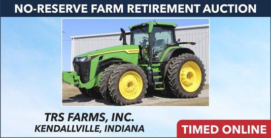 No-Reserve Farm Retirement Auction - TRS Farms Inc