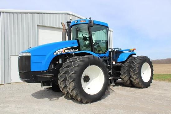 2003 New Holland TJ375 4wd tractor