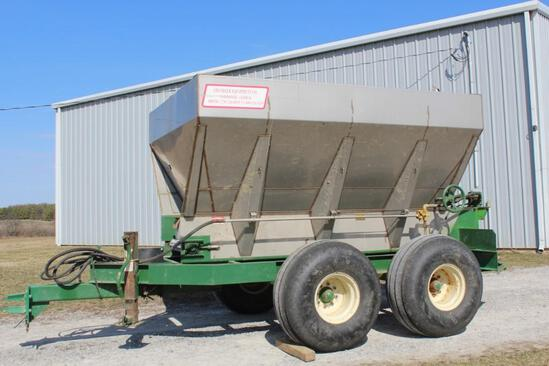 Chandler stainless dry spreader