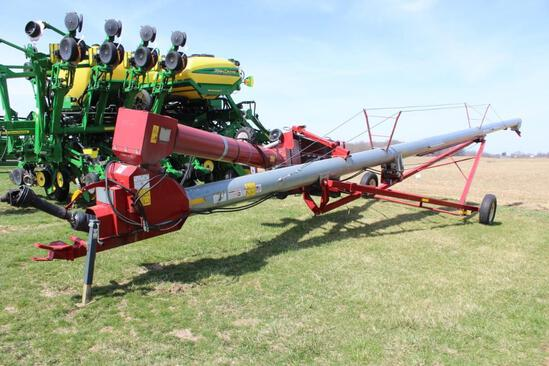 "Hutchison 13""x62"" swing-away auger"