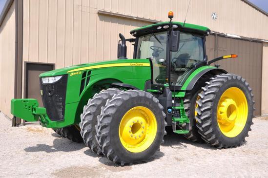 2020 John Deere 8345R MFWD tractor