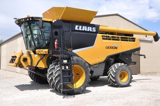 2015 Claas 750 2wd combine