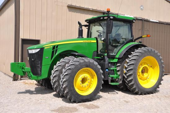 2020 John Deere 8320R MFWD tractor