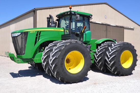 2013 John Deere 9510R 4WD tractor