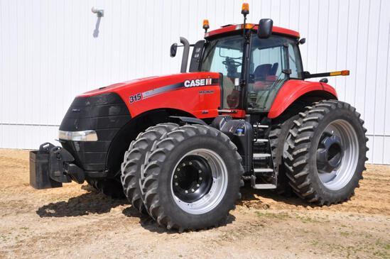 2011 Case-IH 315 Magnum MFWD tractor