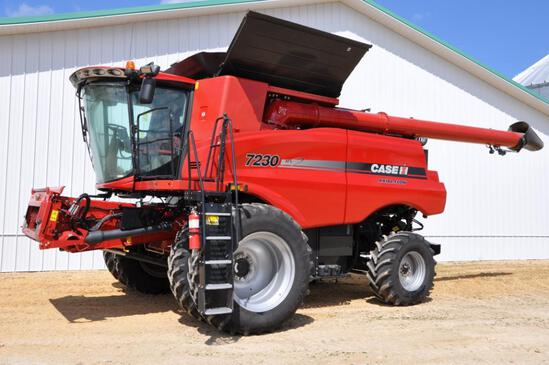 2014 Case-IH 7230 4wd combine