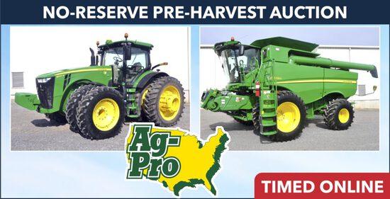 No-Reserve Pre-Harvest Auction - Ag-Pro