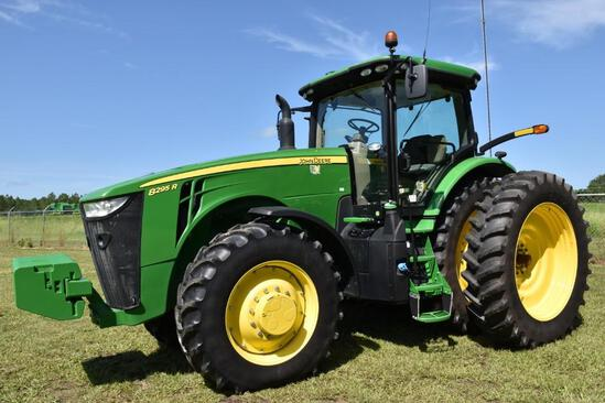 2020 John Deere 8295R MFWD tractor