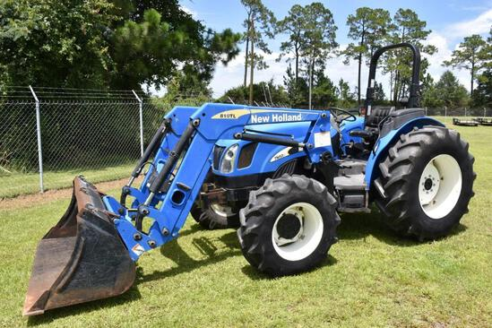2000 New Holland TN60A MFWD tractor w/loader