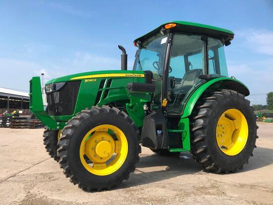 2019 John Deere 5090E MFWD tractor