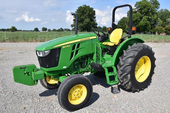 2018 John Deere 5075E 2wd tractor
