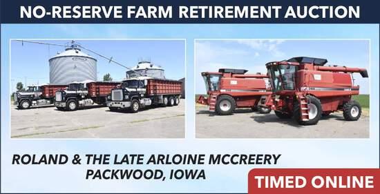 Ring 1: No-Reserve Farm Retirement - McCreery