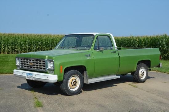 1975 Chevrolet Custom Deluxe 20 2wd pickup