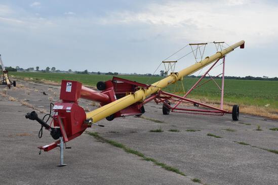 """Westfield MK100-71 10"""" x 71' swing away auger"""