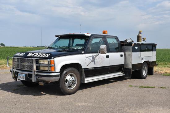 1993 Chevrolet Silverado 3500 2wd crew cab dually pickup