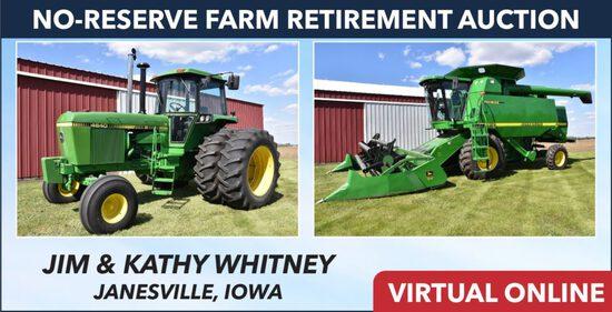 No-Reserve Farm Retirement Auction - Whitney