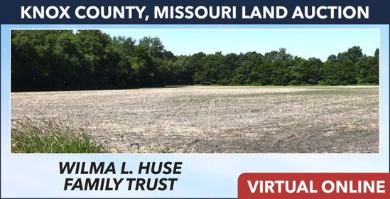 Knox County, MO Land Auction - Huse