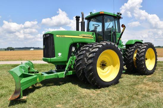 2002 John Deere 9220 4wd tractor