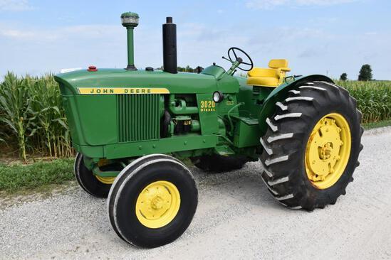 1964 John Deere 3020 2wd tractor