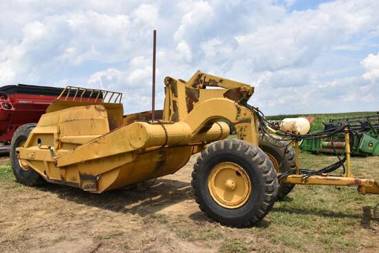 Cat pull-type scraper