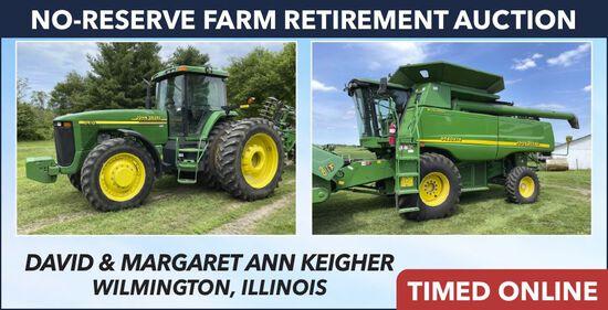 No-Reserve Farm Retirement Auction - Keigher