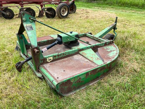 John Deere 609 6' 3-pt. rotary mower